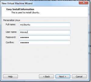 How To Setup VM for IMS - snapshot 2